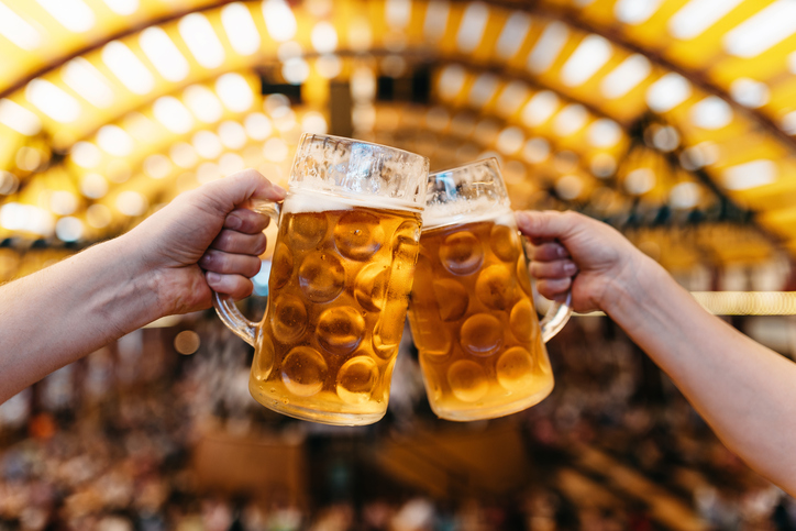 [A] Which region of Germany officially recognizes beer as a food?