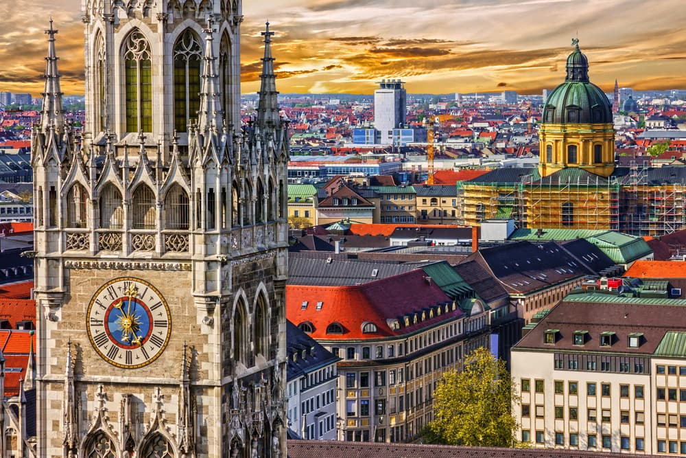 What is the most expensive German city?