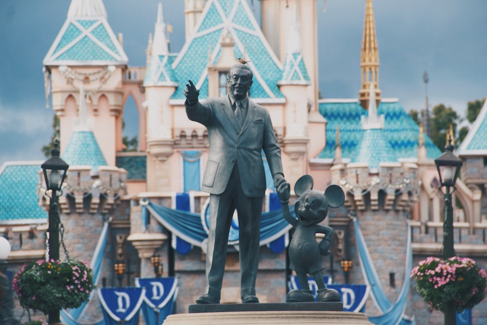 [A] Which of these cities does NOT have a Disney theme park?