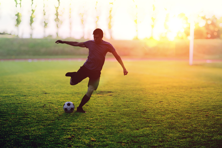 [A] Which country invented modern soccer?