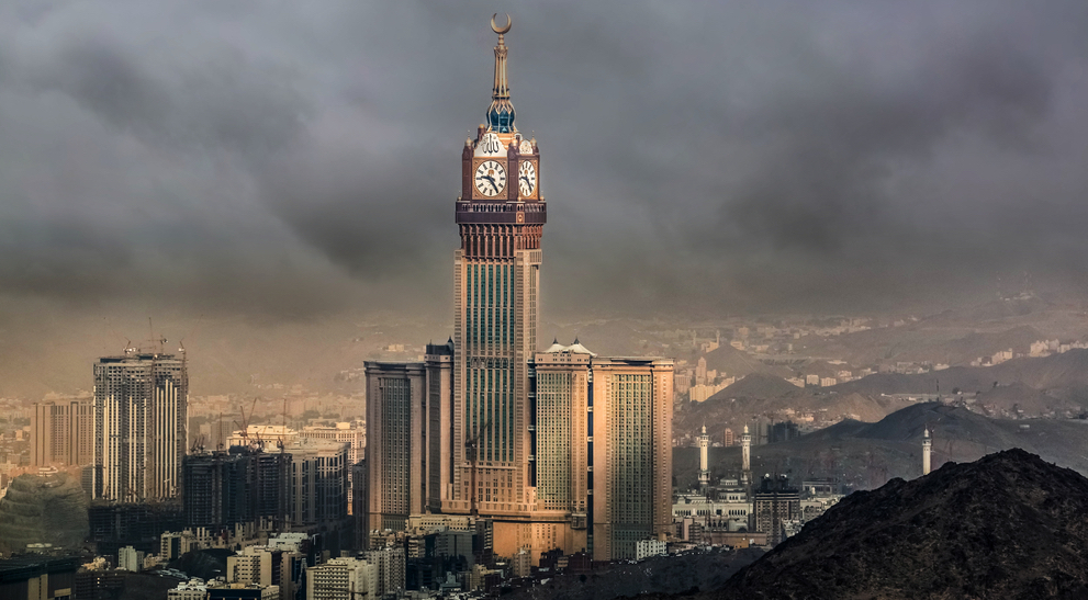 Where is the biggest clock in the world?
