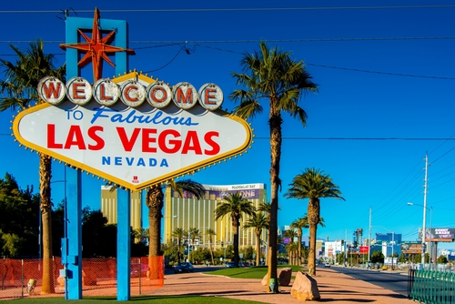 """[A] What do the circles in the """"Welcome to Fabulous Las Vegas"""" sign represent?"""