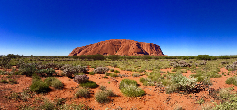 [A] Uluru, or Ayers Rock, is a famous landmark in which country?