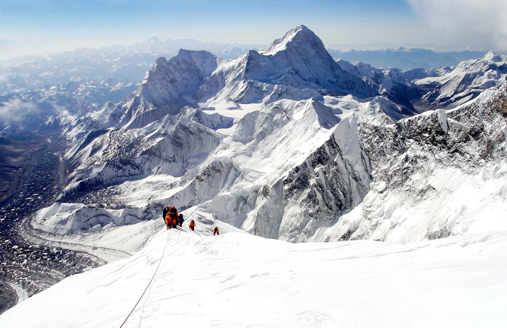 [A] Mt. Everest is part of what mountain range?