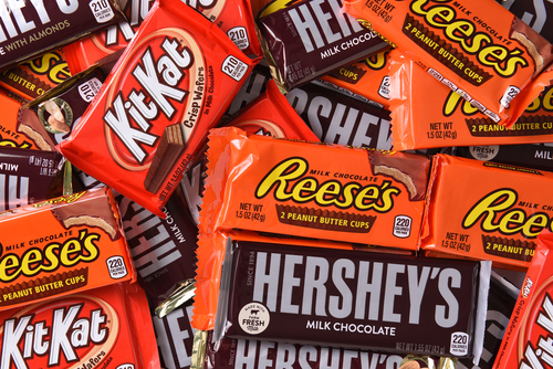 [Q] Which state is home to the candy empire Hershey?