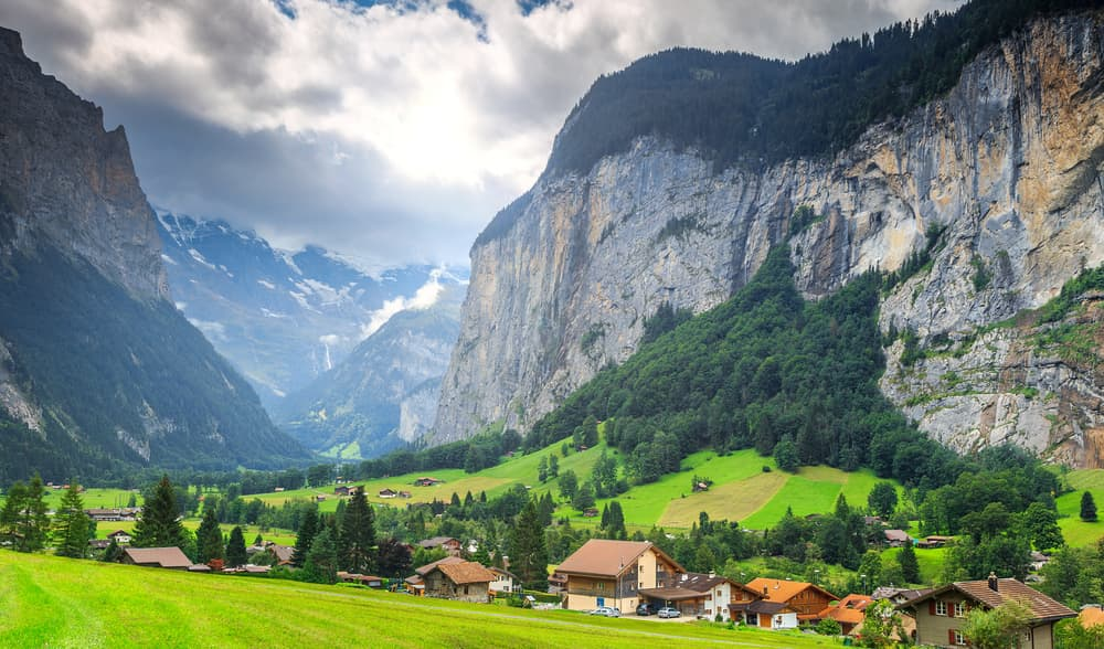What is the most widely spoken language in Switzerland?