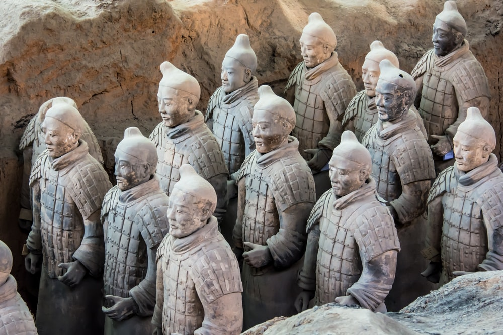 Where can you see the Terracotta Warriors?