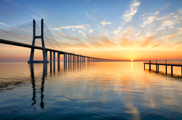 [A] Where is the longest bridge in the world?