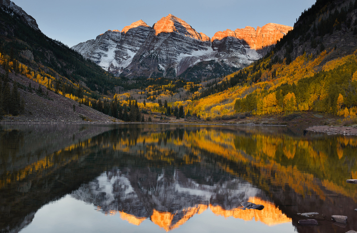 [A] In which state are the highest peaks of the Rocky Mountains?
