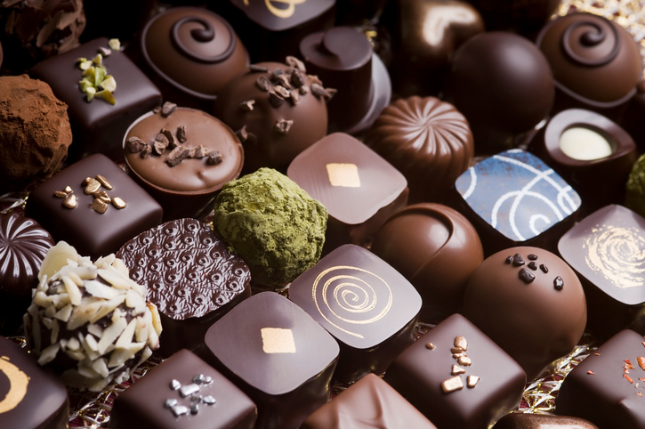 [Q] Which country in the world consumes the most chocolate per person?
