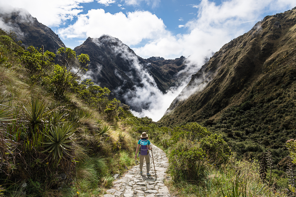 [A] The Inca Trail leads to what landmark?